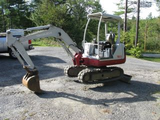 Takeuchi Tb125 Mini Excavator photo