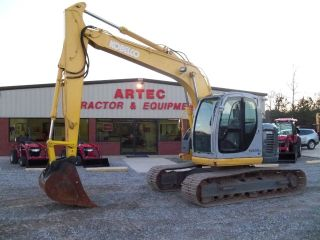 2005 Kobelco Sk135sr - Lc Excavator - Loader - Backhoe - Only 4185 Hours photo