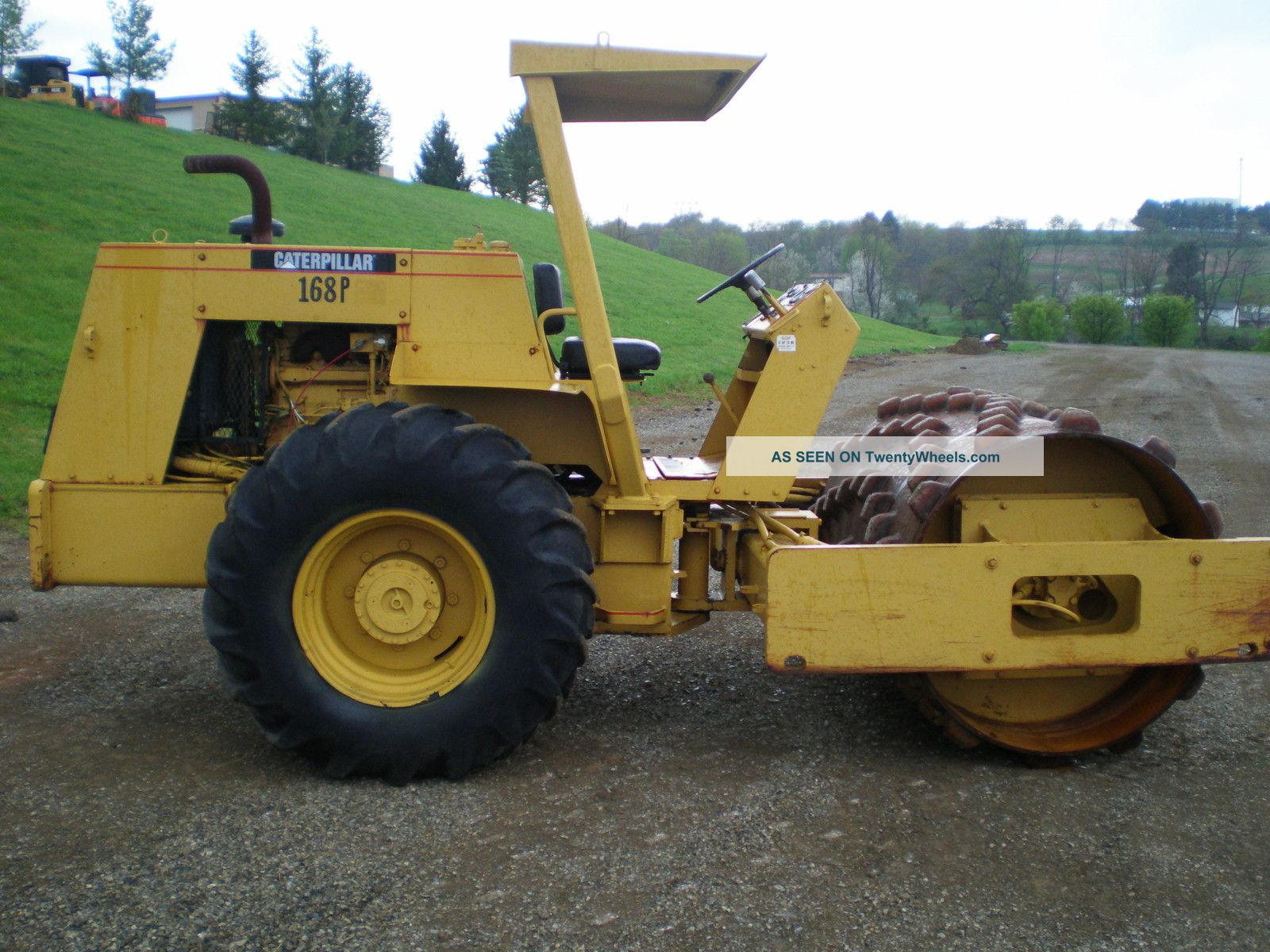 Caterpillar/ Bros 168p Compactor 68