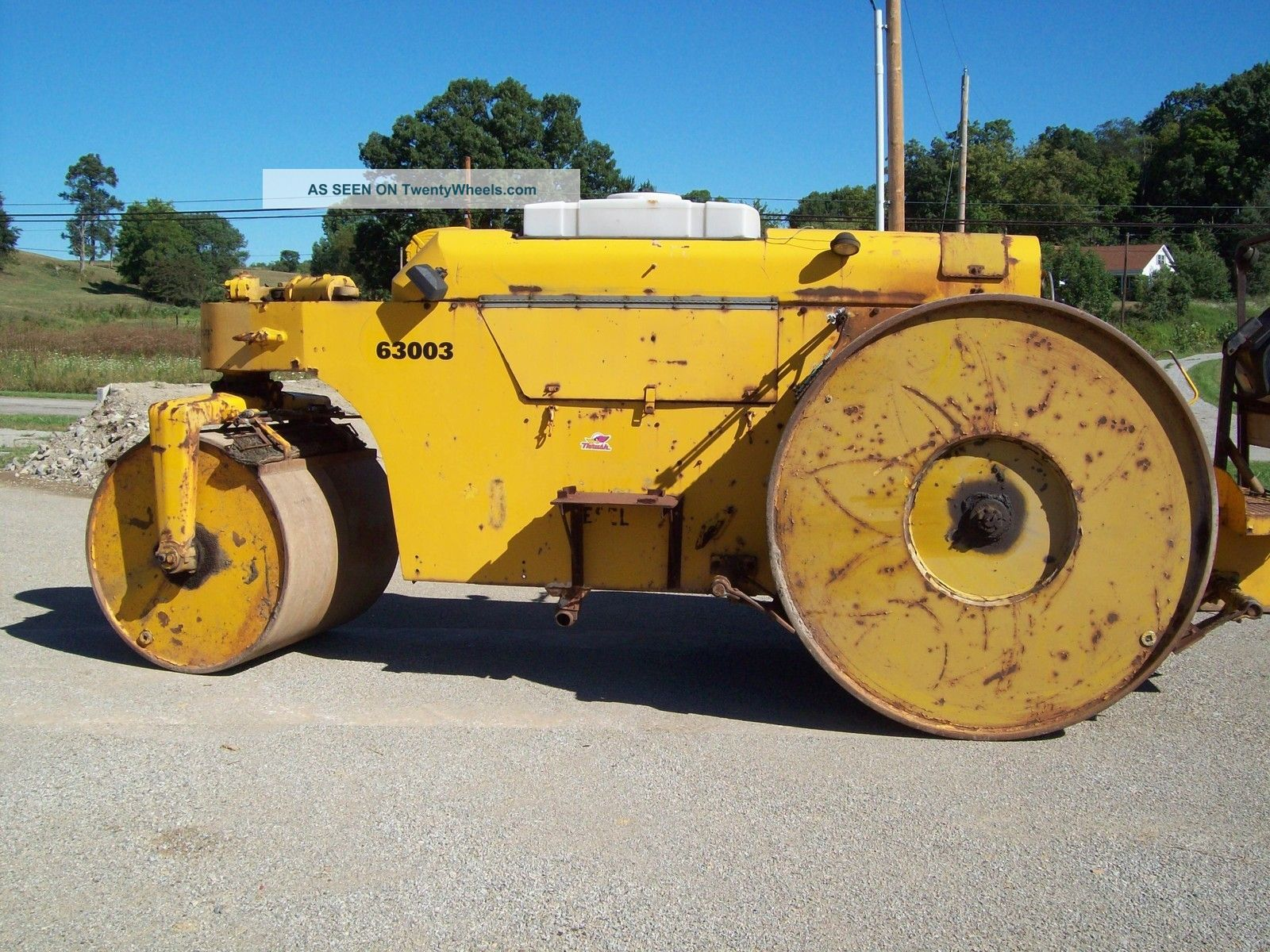 Galion Chief 3 Wheel Diesel Asphalt/stone Roller