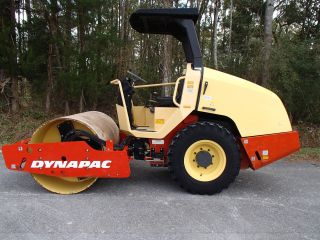 217 Hours 2008 Dynapac Ca144d Vibratory Single Drum Compactor,  Construction photo