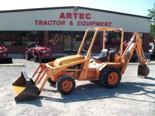 2005 Allmand Tlb325 Loader Backhoe Tractor - Very Low Hours photo