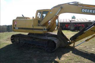 2001 John Deere 120 Excavator photo