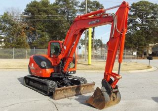 2010 Kubota Kx080 - 3 Utility Excavator  - Stock U0001596 - 2004 Hours photo