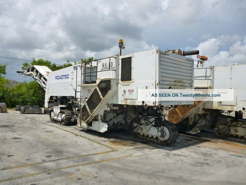 1991 Roadtec Rx - 50 Cold Planer Milling Machine Pavers - Asphalt & Concrete photo