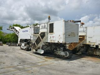 1991 Roadtec Rx - 50 Cold Planer Milling Machine photo