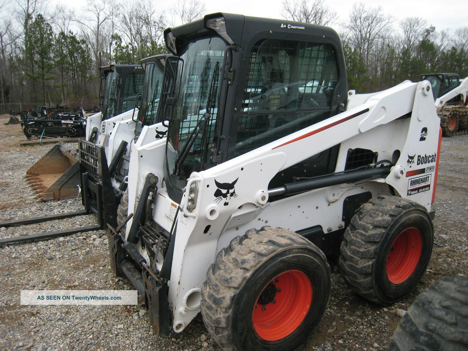 Bobcat Skid Steer Paint : Bobcat s hours great paint tires cab