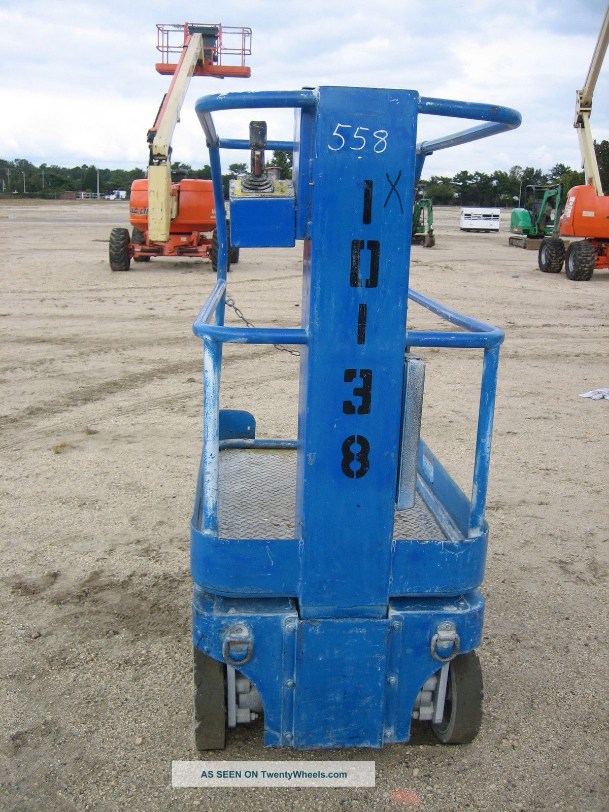upright mx19 scissor lift parts manual