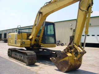 1999 Komatsu Pc120 - 6 Hydraulic Excavator W/mechanical Thumb,  Only 4835 Hours photo