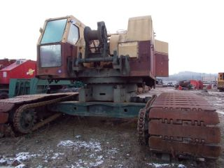 Bucyrus Erie 61b Crawler Crane.  115 Ton Crawler Crane.  Bucyrus Erie Crane photo