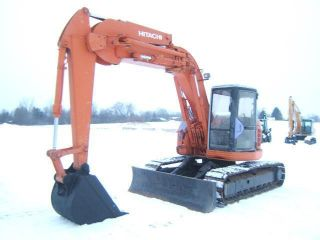 Hitachi Ex135ur Excavator photo