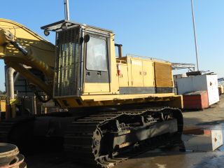 1990 Cat Caterpillar Model 245 B / Only 5901 Hours On It. photo