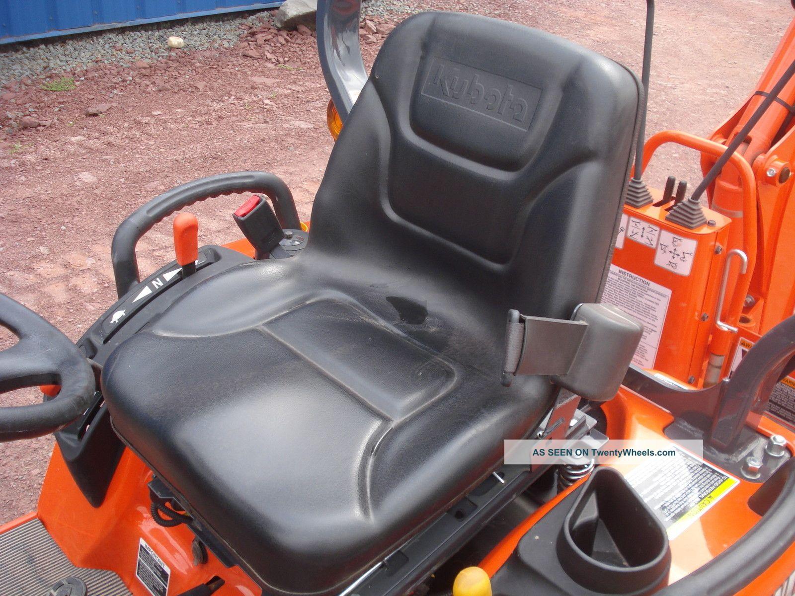 Kubota Bx Tool Box : Kubota bx tractor loader backhoe only hours
