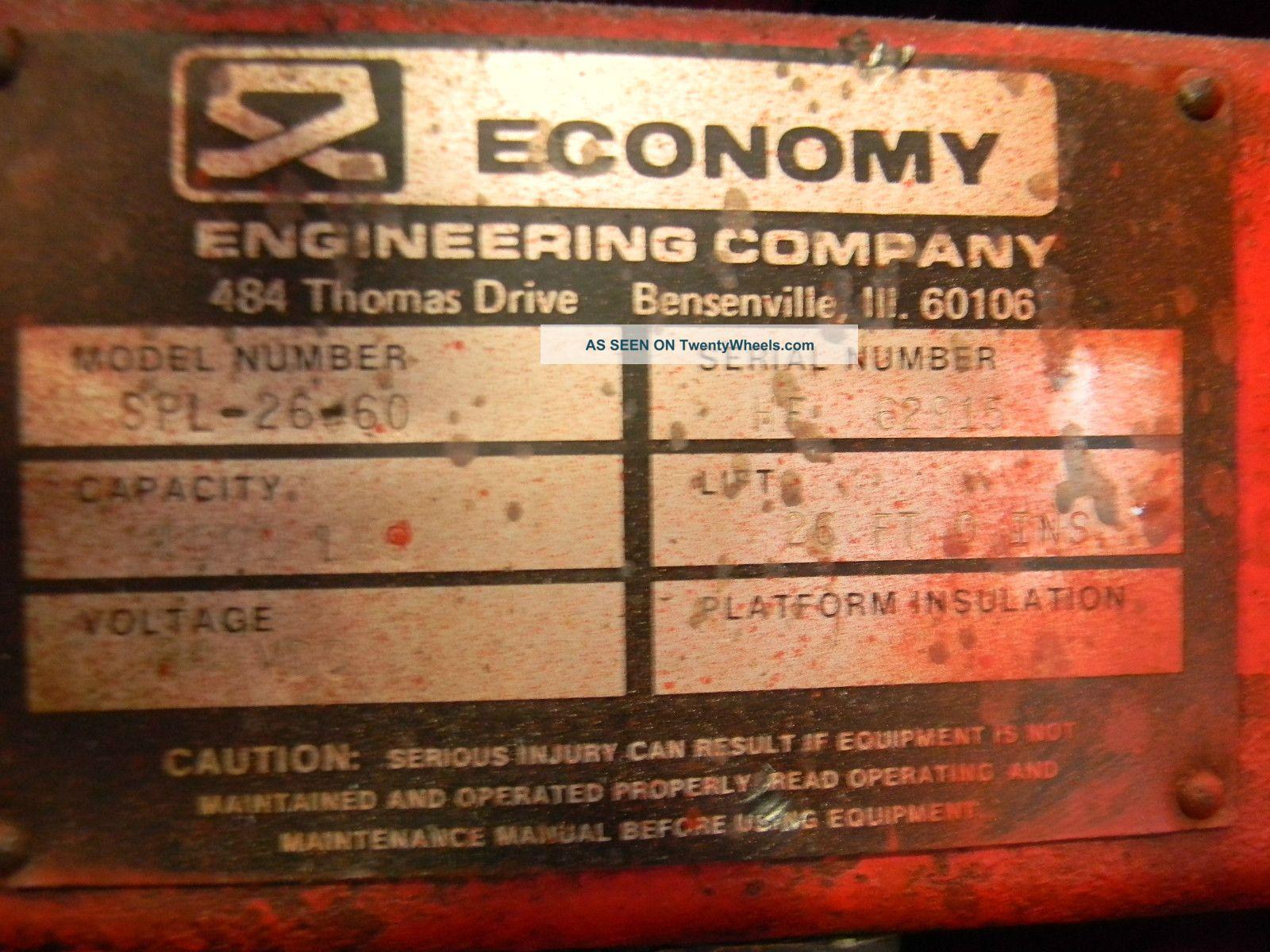 Economy Wildcat Scissor Lift 26  U0026 39  Height Model Spl