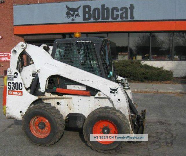 Bobcat S300 High Flow Heat Ac Two Speed Skid Steer Diesel 4x4