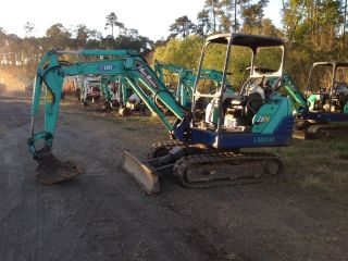 Ihi 28n - 2 2006 Mini Excavator Only 1800 Hrs Runs Great,  3 Cyl.  Diesel 10 ' Dig photo