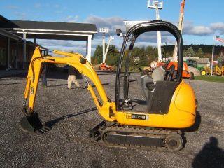 Jcb 8018 Mini - Excavator photo