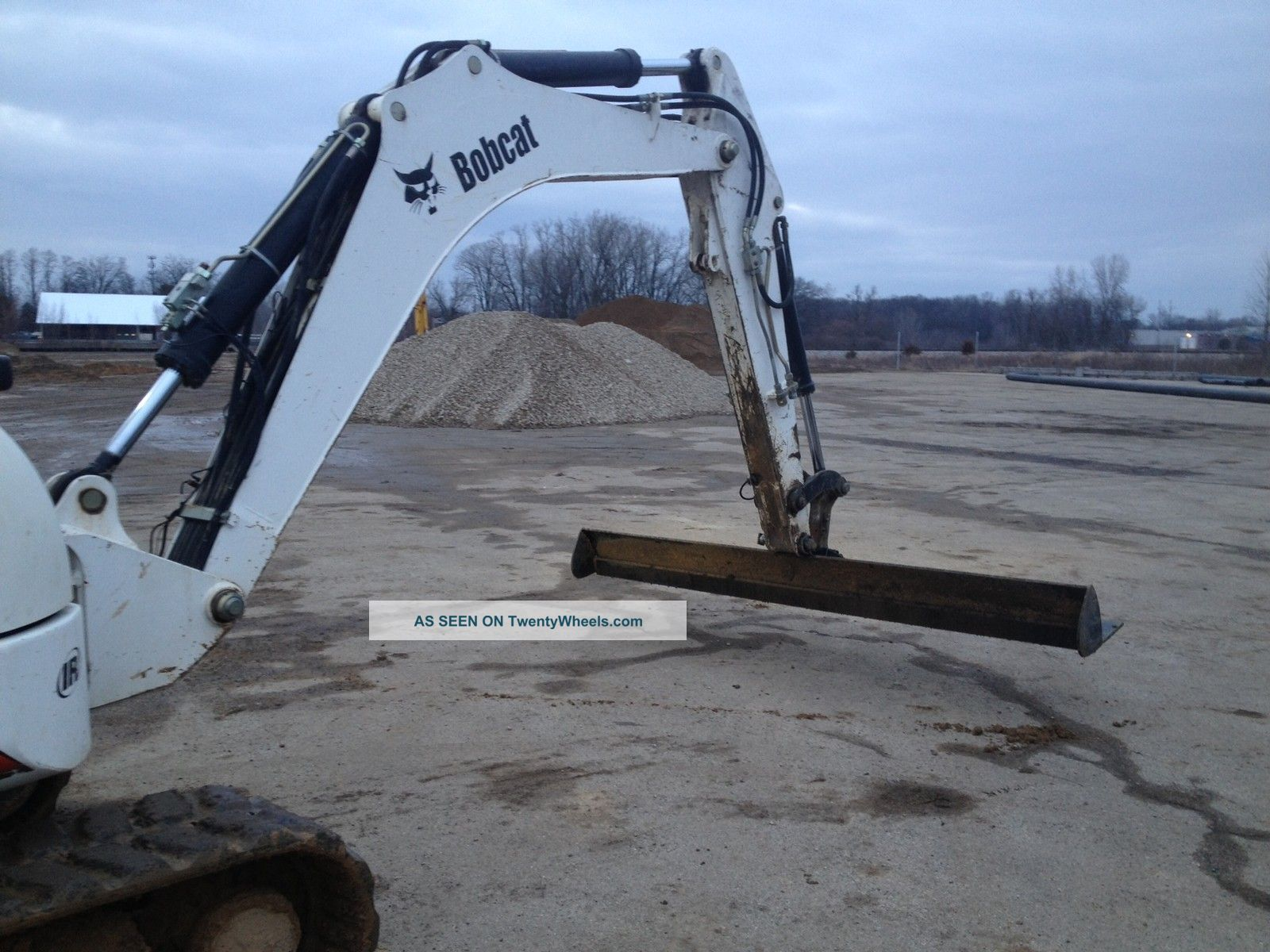 Excavator 10 Wide Come A Long Rake Grade Bucket