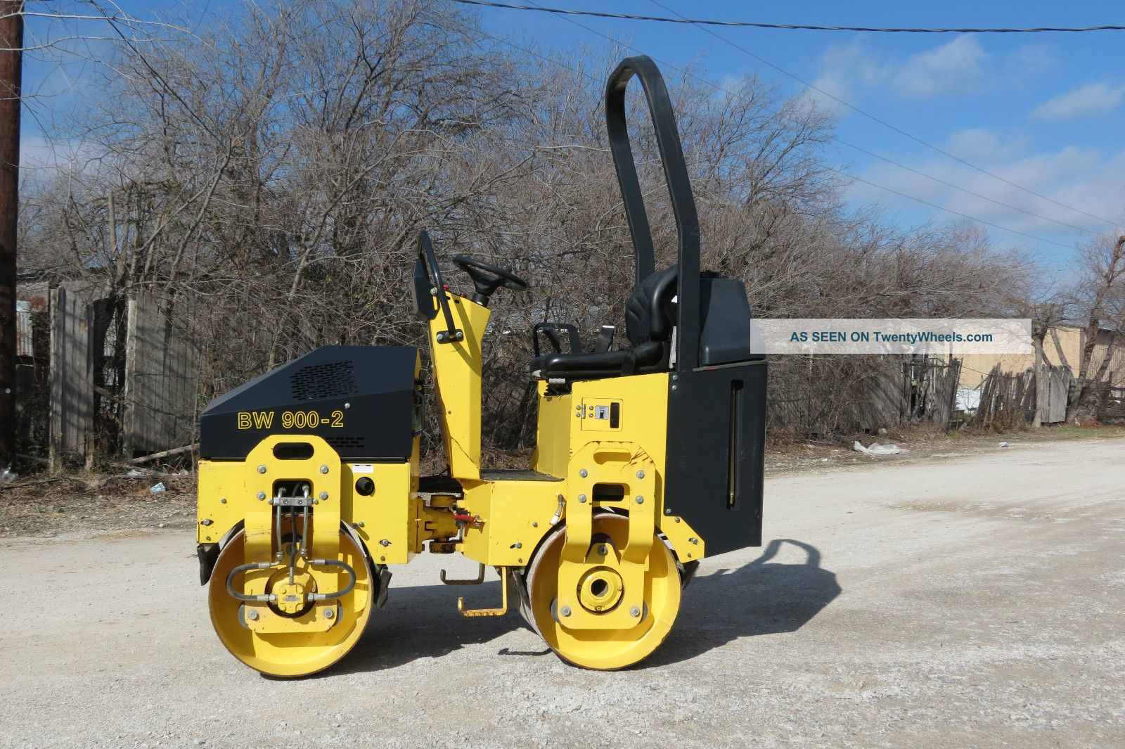 2010 Bomag Bw900 - 2 Compactor Roller Vibratory Smooth Drum 124 Hours Dfw Texas Compactors & Rollers - Riding photo