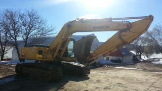 1998 Komatsu Pc220 Lc - 6le Hydraulic Construction Excavator Backhoe Machine. . photo