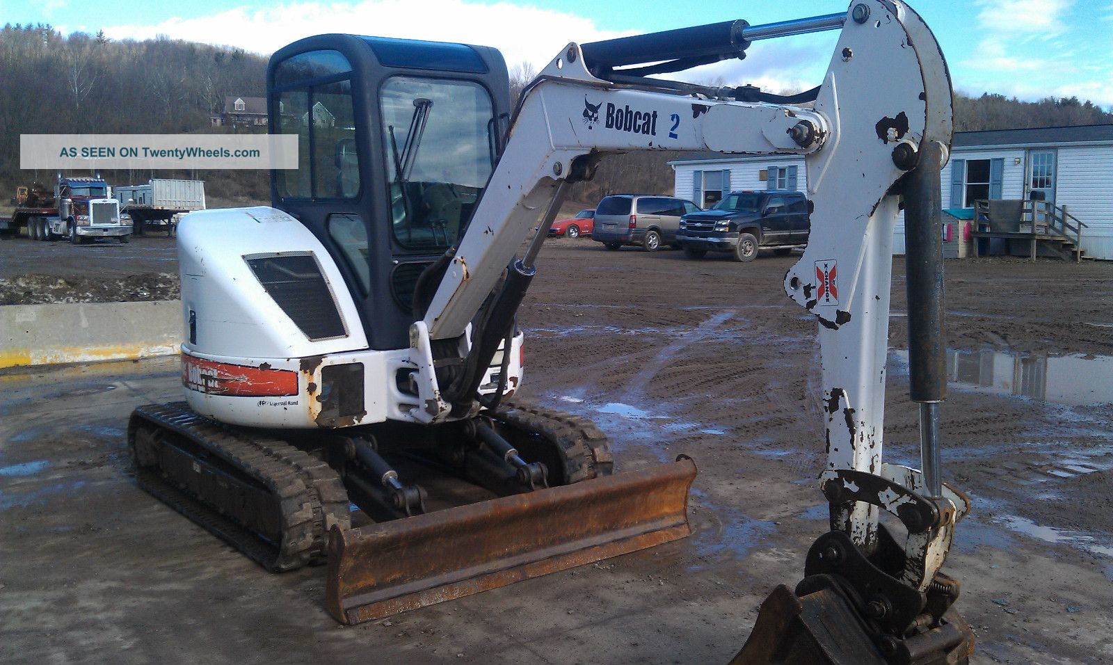 Bobcat 430zhs Mini Excavator Excavators photo