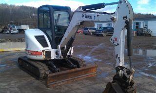 Bobcat 430zhs Mini Excavator photo