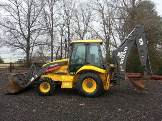 2003 Volvo Bl70 Tractor Loader Backhoe; 4 - 1,  Extenda - Hoe,  Cab,  New Tires,  4wd photo