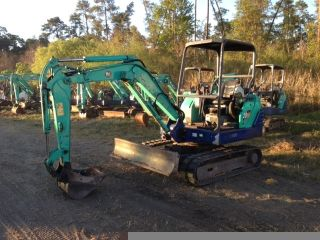 Ihi 28n - 2 2005 Mini Excavator Only 2000 Hrs Runs Great,  3 Cyl.  Diesel 10 ' Dig photo
