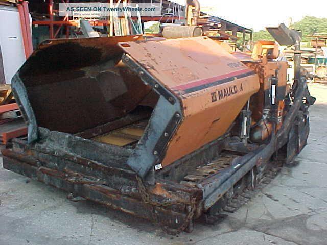 2004 Mauldin Asphalt Paver 1750 - C,  80 Hp John Deere Diesel,  8 To 13 Ft Pavers - Asphalt & Concrete photo