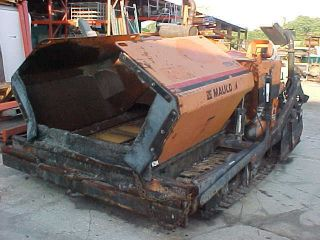 2004 Mauldin Asphalt Paver 1750 - C,  80 Hp John Deere Diesel,  8 To 13 Ft photo