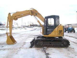 Cat 307ssr Excavator photo