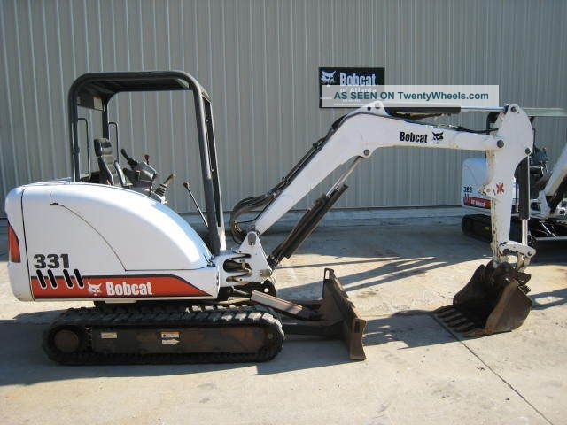 Bobcat Skid Steer Paint : Bobcat hp lbs open cab great paint