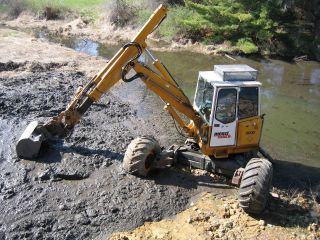 95 Menzi Muck Kaiser Walking Excavator Low Hours A/c photo