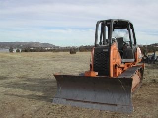 2004 Case 650k Crawler - Only 1074 Hours photo