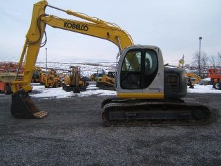 Kobelco Sk135srlc Excavator photo