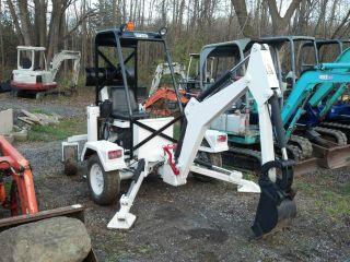 2007 Rhm Self Propelled Towable Go - For Gf6lm Mini Backhoe Excavator Dozer photo