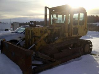 Dresser Bulldozer Td - 15 W/rops,  Heat,  And Full Cab With All The Glass photo