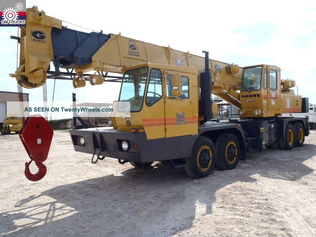 Grove Tms300lp - 5 Crane (gm104070) Cranes photo