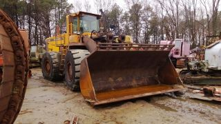 2000 Volvo L330d Wheel Loader,  Rubber Tire Loader,  Reduced From $65,  000 photo