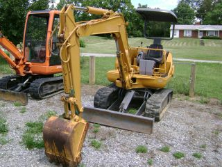 Komatsu Pc20 - 7 Excavator In Good Condition,  Only 2803 Hours photo