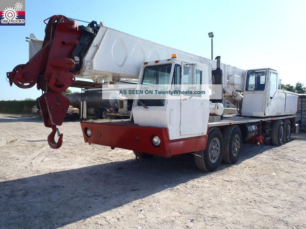 Link - Belt Htc - 35 Crane (gm104035) Cranes photo