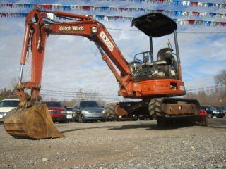 Ditch Witch Mx 272 Low Hour Mini Excavator Powerful Yanmar Diesel Clean Machine photo