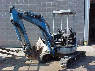 2002 Kobelco Sk025sr Mini Excavator photo