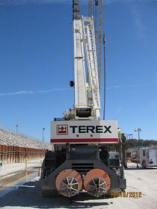 2nd Price Reduction 2009 Terex 55 Ton Rough Terrain Crane W/110 ' Boom photo