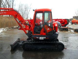 2007 Kubota Kx161 - 3 Excavator,  A/c,  Floating Angle Blade,  Bucket,  And Thumb. photo