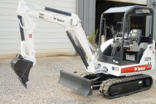 Bobcat 325g Compact (mini) Excavator 2344112462 photo