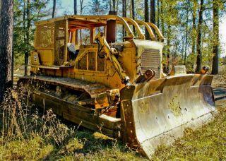 D8 Caterpillar Dozer photo