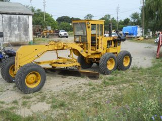 1975 Wabco Motor Grader - 1976 - 471 Rebuilt Detriot Diesel Engine photo