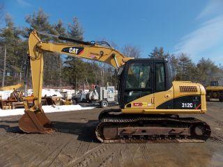 2008 Caterpillar 312cl Excavator,  Cat Trackhoe,  2,  900 Hours,  Machine photo