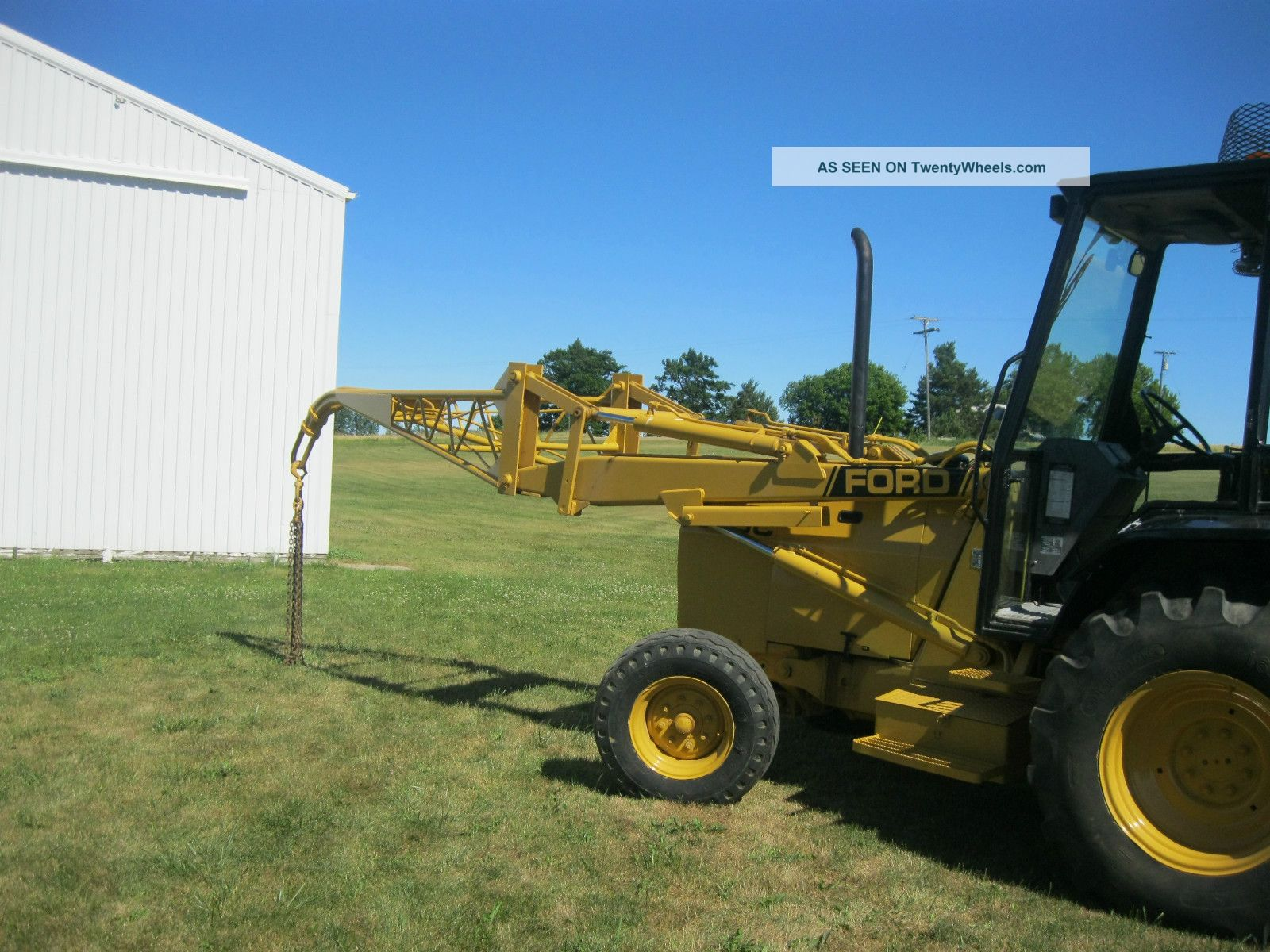 555 Ford Backhoe Seats : Ford c specifications